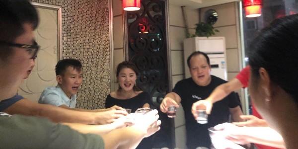 昱枰家人们的双节聚餐