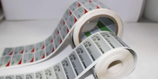易碎膜不干胶标签印刷