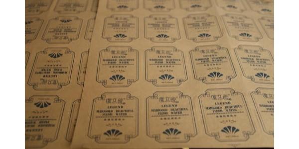 不干胶标签印刷的工艺流程