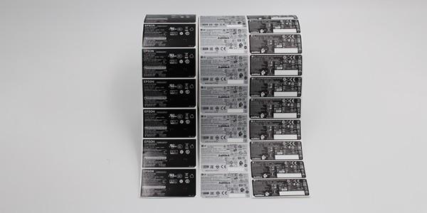 电源不干胶标签的选用标准