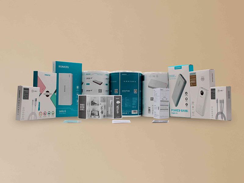 昱枰印刷为罗马仕提供彩盒标签定制业务